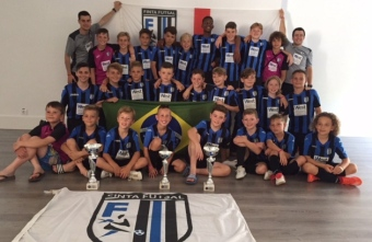 Finta youngsters enjoy great success in Barcelona as all three sides qualify for finals