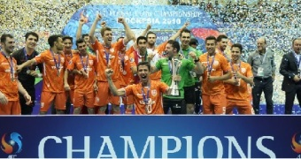 Mes Sungun undefeated in the AFC Futsal Club Championships 2018 Indonesia