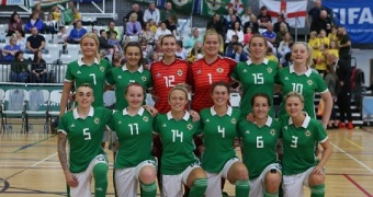 Spirited performances by Northern Ireland throughout their UEFA Futsal Women's EUROs 2018