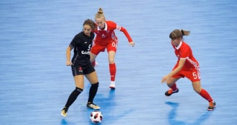 Russia win men's and women's titles at World University Futsal Championships