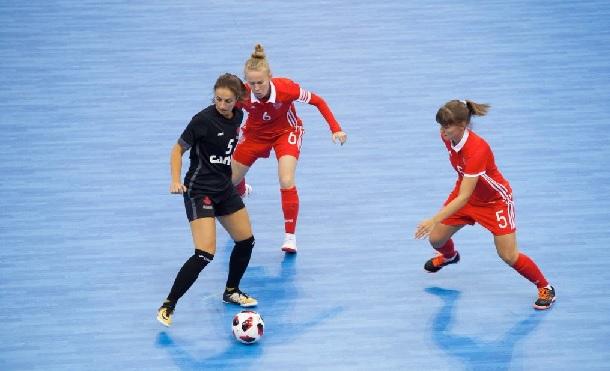 Russia win men's and women's titles at World University Futsal Championships