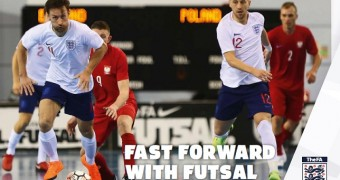 Progress despite defeat, England launch their new FA Futsal Strategy 2018-24