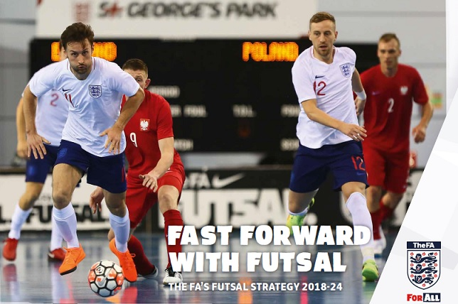 Progress despite defeat, England launch their new FA Futsal Strategy 2018-24
