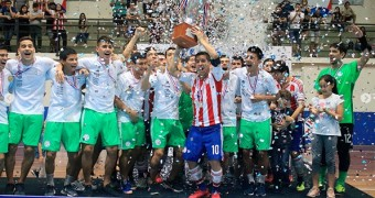 Paraguay are the champions of the South American Futsal League