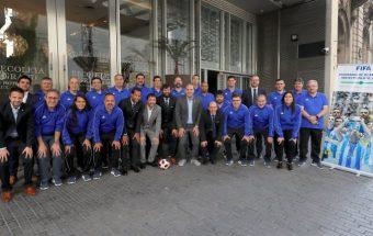 FIFA Exchange Programme futsal workshop rave reviews in Argentina