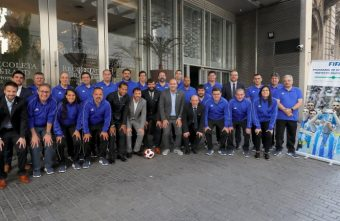 FIFA Exchange Programme futsal workshop rave reviews in Argentina