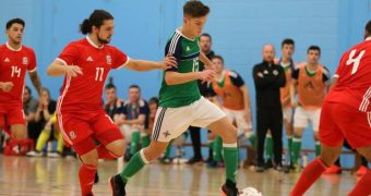 The Home Nations Futsal Championships 2018 about to kick off in Northern Ireland