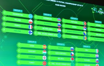 The excitement begins for the first ever UEFA Futsal U19s EURO 2018-19