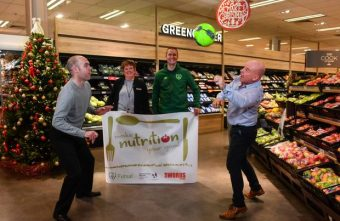 Football Association of Ireland and partners launch new innovative healthy eating initiative via futsal