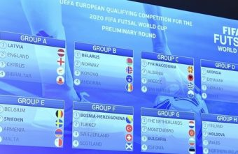 The 2020 FIFA Futsal World Cup draw makes you wonder how far can the home nations go?