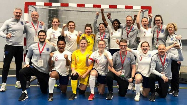 Euro success in Finland for England's Men and Women's deaf Futsal teams