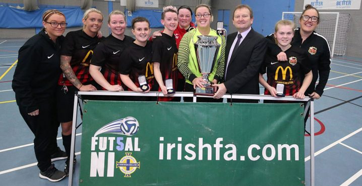 Northern Ireland Women's Futsal League reaches semi-finals