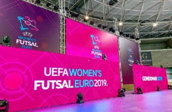 The UEFA Women's Futsal EURO Finals 2019