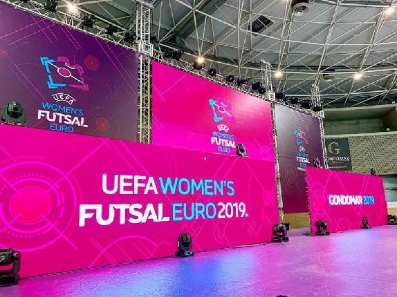 The UEFA Women's Futsal EURO Finals 2019