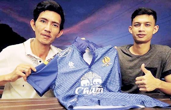 Myanmar Futsal player makes history