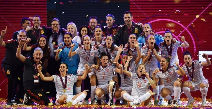 UEFA Women's Futsal EURO Final Spain 4-0 Portugal
