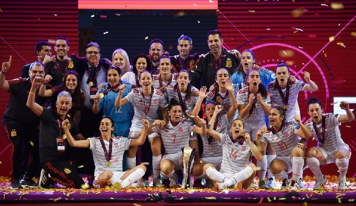 Women's Futsal EURO Final Spain 4-0 Portugal