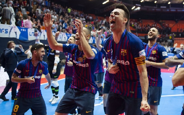 Barcelona and Malaga enjoy Futsal Copa de España success