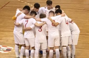 England finish third in main round qualifiers U19 Futsal EURO