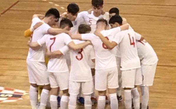 England finish third in main round qualifiers U19 Futsal EURO