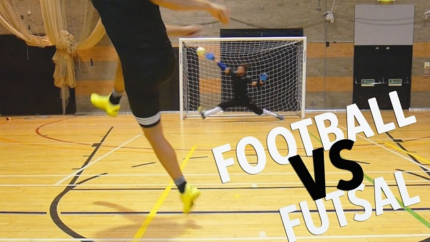 Differences in agility performance between futsal and football players