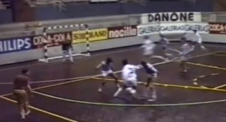 When Real Madrid had a Futsal team