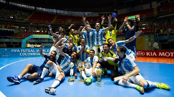 Argentina confirm futsal tournaments in the United States and Saudi Arabia