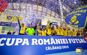 Romanian Futsal Cup Final 2019 - Futsal Club Dunărea Călărași defeated CS United Galaţi - 2 - 1