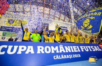 Romanian Futsal Cup Final 2019 - Futsal Club Dunărea Călărași defeated CS United Galaţi - 2 - 1