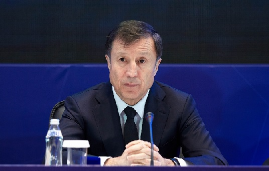 Adilbek Jaxybekov - President of the Kazakhstan Football Federation