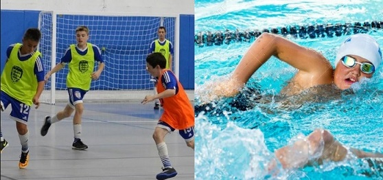 Impact of Futsal and Swimming Participation on Bone Health in Young Athletes
