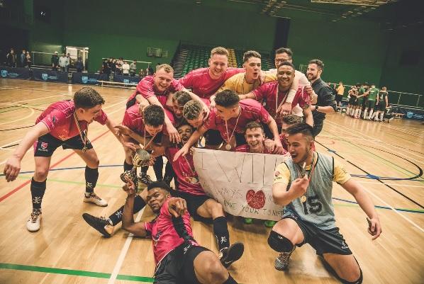 Nottingham Trent University Futsal Club: Varsity Futsal Final 2019