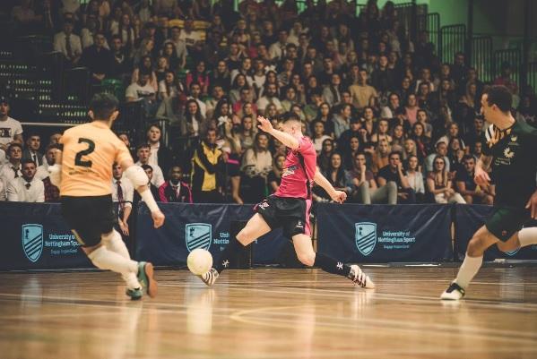 Nottingham Trent University Futsal Club: Varsity Futsal event 2019
