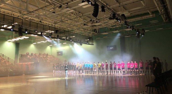University of Nottingham Futsal Club win the Varsity Futsal 2019 event