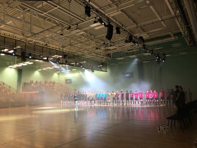 University of Nottingham Futsal Club win the Varsity Futsal 2019 event