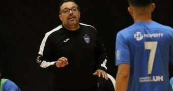Helvécia Head Coach Leandro Afonso discusses his club and futsal