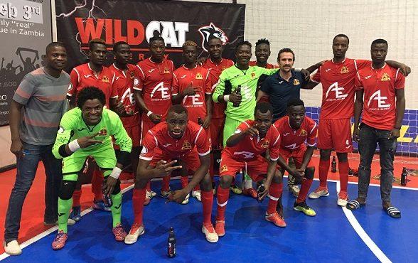 Andrea Cristoforetti coach of Automotive Futsal Academy discusses his club in Zambia and African futsal