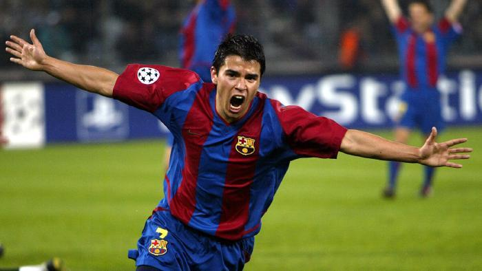 Former Barca player Saviola continues his love for playing through futsal