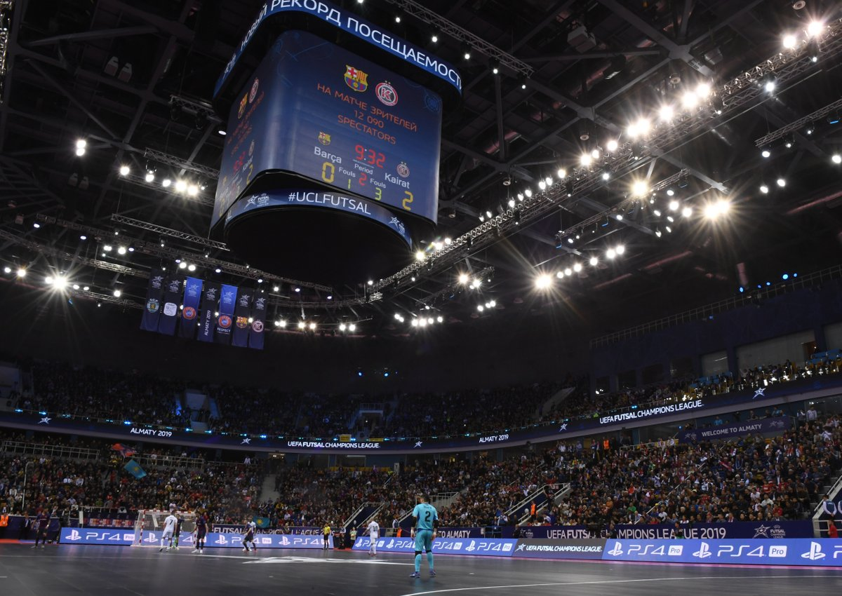 The first UEFA Futsal Champions League Final will have no Spanish ...