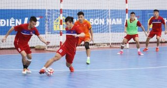Blood Flow Restriction During Futsal Training Increases Muscle Activation and Strength