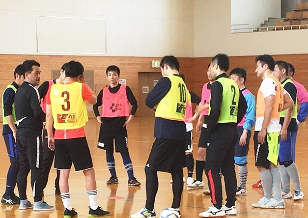 Futsal A-Licence Coaching Course 2019 held at Suzuka City, Mie, Japan