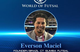 World of Futsal host Keith Tozer talks futsal with Founder of Brazil CT Sumba Futsal, Everson Maciel