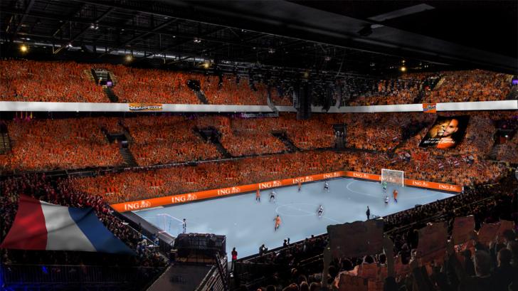 Netherlands bid for the 2022 UEFA Futsal EURO Championships