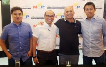 Vic Hermans assisting the Philippines with Futsal development