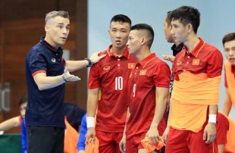 Vietnam are drawn in a tough group in the AFF Futsal Championship