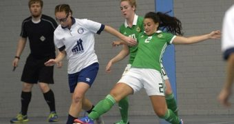 Manchester Futsal Women's Club defeated Northern Ireland