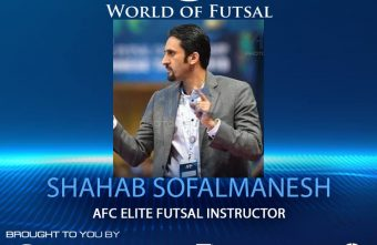 AFC Futsal Elite Instructor, Shahab Sofelmanesh on the World of Futsal podcast