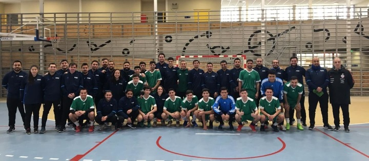 Chile supports futsal's development