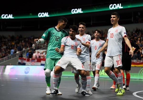 Spain defeated Croatia and won the first-ever Men's U19 UEFA Futsal EURO 2019