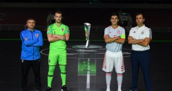 Tonight is the night, the first-ever U19 UEFA Futsal EURO final!!!